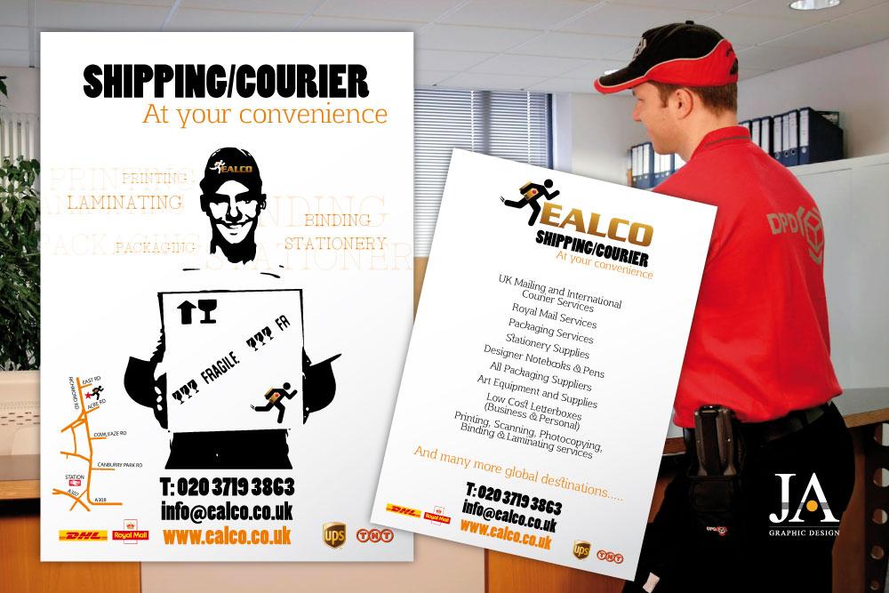 Création de flyer - Spécialiste de la livraison EALCO